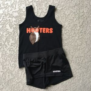 Authentic Like NEW Black Hooter Uniform Size S